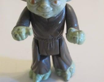 1980 Yoda, Original Star Wars Toys, Action Figure, Empire Strikes Back, Loose, Gift, Vintage Kenner.
