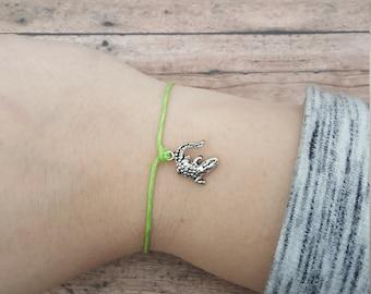 Alligator Bracelet, Gator Bracelet, Crocodile Bracelet, Alligator Wish Friendship Bracelet, Crocodile Wish Friendship Bracelet