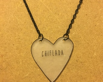 Chiflada : Heart-Shaped Necklace