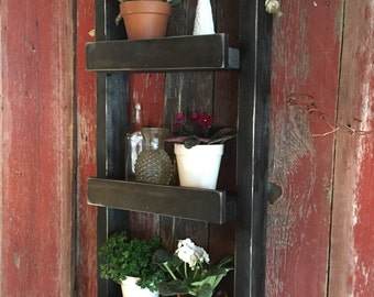 il_340x270.1123542142_pgx2 Rustic Garden Farmhouse Shelf Plant Stand on lantliv plant stand, garden shelf cabinet, privilege multi tiered plant stand, 3 tier plant stand, garden shelf table, wine rack plant stand,