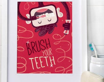 Brush Your Teeth, Myko! in Strawberry