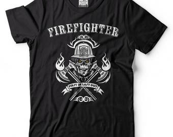 Firefighter T-shirt Fireman Proud Firefighter Shirt