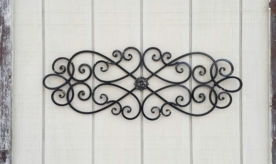 Metal Wall Art Black Home Decor Black Metal Wall Decor