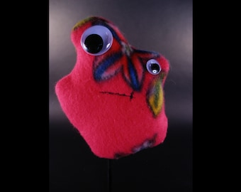 Lumps: Abstract Stuffed Animals