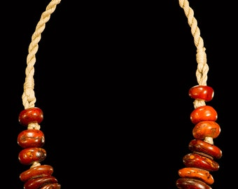 "Amber Necklace ""Summer"""