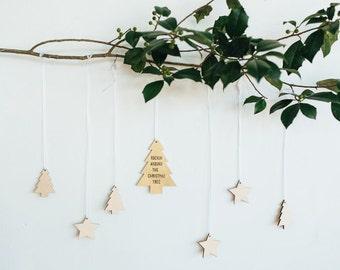 Set of 5 Mini Ornaments