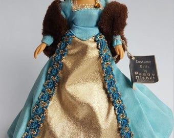 Vintage Peggy Nisbet Catherine Parr Doll, Model H/223, Made in England