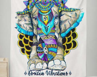 Positive Vibrations Wall Tapestry