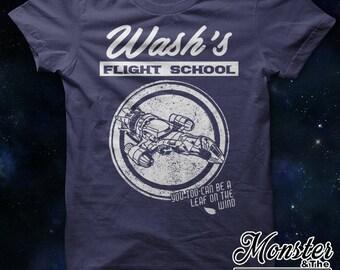 Wash's Flight School Ringspun T-Shirt