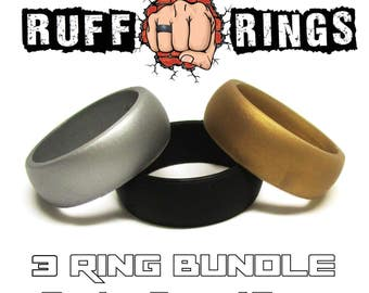 Affordable And Durable Silicone Wedding Rings By Ruffrings