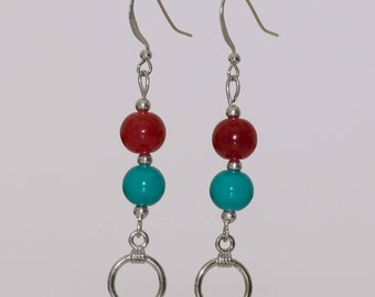 Earrings, dangling earrings