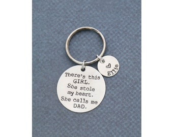 New Dad Gift • Unique Dad Quote • Daddy Keychain • Daddy Gift • Dads Birthday • Gift For Him • Father Gift • Husband Gift • Fun Dad Gift