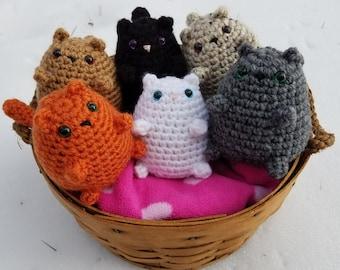 Crochet Mini Kitty Cat