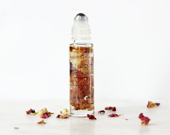 FLIRT perfume | Sensory Perfume with Jasmine, Rosewood and more | 100% natural and vegan