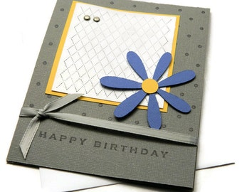 Mom Birthday Card - Happy Birthday Her - Bday Cards For Woman - Bday Card Wife - Floral Card Messages - Greetings Cards Her