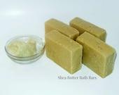 Natural Shea Butter Bath Bars