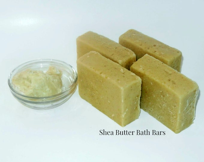 Featured listing image: Natural Shea Butter Bath Bars
