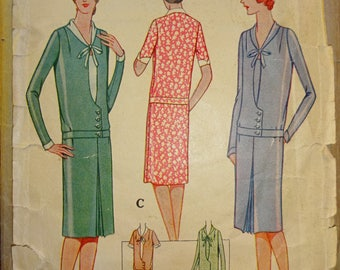 1920s Style  Custom Made in Your Size From a Vintage Pattern