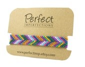 Colorful Traditional Woven Macrame Friendship Bracelet Wrap / Adjustable Friendship Bracelet / PerfectImp Chevron Braclet / Best Friend Gift
