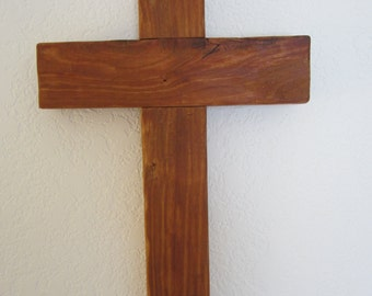 Cherry Wood Cross 5