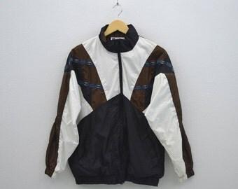 Bold Spirit Windbreaker Vintage Bold Spirit Aztec Jacket Mens Size S