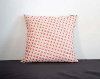 COLOR PILLOW - RED - printed by hand
