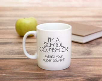 School Counselor Gift - Gift for School Counselor - Teacher Mug - Christmas Gift - Counselor Gift - Teacher Gift - Gift for Teacher - School