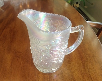 Opalescent Imperial Glass Pitcher