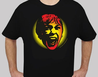 SCREAM - 100% Cotton Short Sleeve T-shirt -  from Hitchcock's PSYCHO