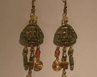 Bohemian earrings (134)