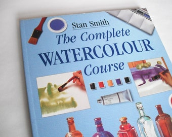 The Complete Watercolour Course 90s vintage how to book