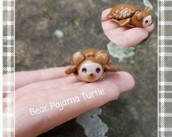 New! Bear Pajama Turtle