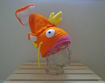 Magikarp Inspired Hat - Pokemon Hat - Fish Hat
