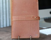 The Inventor PERSONALIZED Fine Real Leather Journal Padfolio Notebook Cover A5 Moleskine Diary Diaries College gifts Business corporate gift
