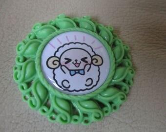 Sheep, Lamb , animal themed resin needleminder  magnet