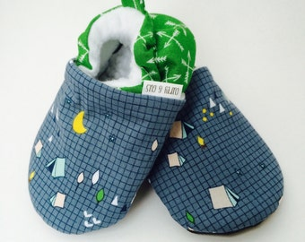 Camping Baby Shoes, Baby Boy Shoes, Arrow Baby Shoes, Soft Sole Baby Shoes, Baby Booties, Baby Moccasins, Crib Shoes, Toddler Slippers, Mocc