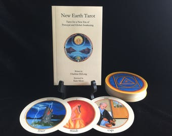 New Earth Tarot Deck and Book Set, FIRST EDITION, Collectable