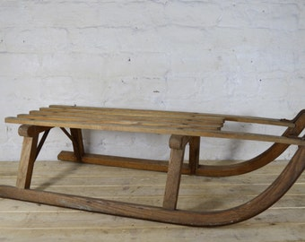 Vintage sleigh from France
