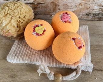Blood Orange Bath Bomb