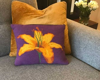 Tiger Lily Tapestry Kit (FREE DELIVERY to all UK and European destinations)