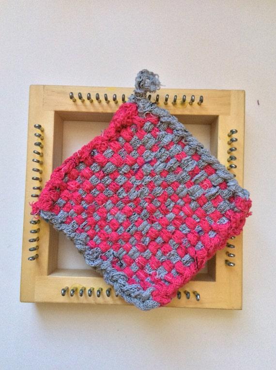Loom Knitting Pattern Book Download : Potholder Tutorial, Weaving Loom, PDF Only, Potholder ...