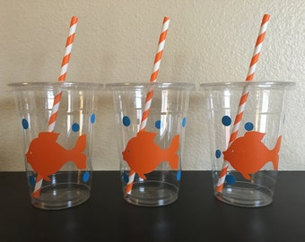Goldfish Party Cups