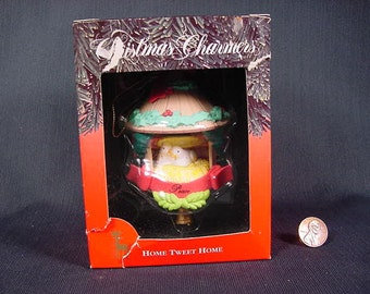 Christmas Tree Ornament Decoration * Vintage Old Collectible * Home Tweet Home * 1991