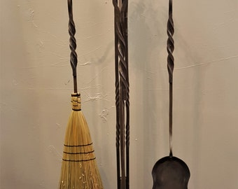 Fireplace Tools with Grapevine