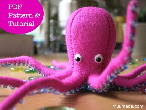 Octopus Sewing Pattern...