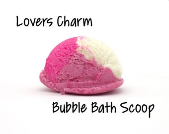 Lovers Charm Bubble Bar | Bubble Bath Scoop | Bubble Scoop | Compare to Love Spell