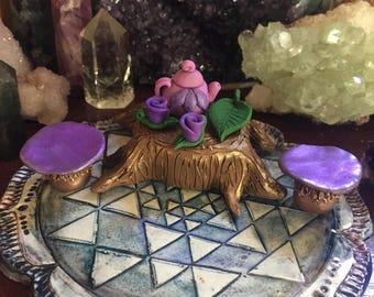 Faerie Tea Set, fairy, faerie