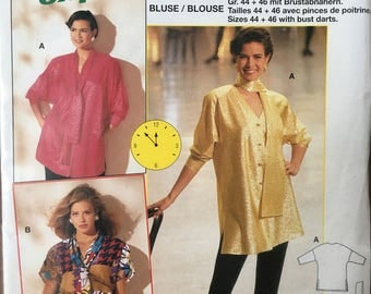 BURDA 4417 - Blouse Pattern 12-20