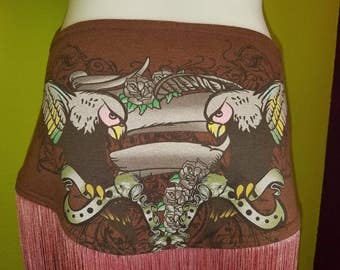 Tattooed Sparrows Belly Dance/festival hipscarf