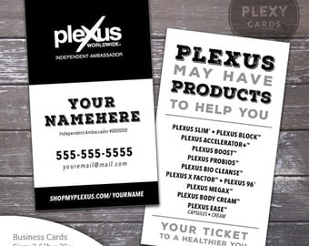 Plexus Business Card Minimalist Design [DIGITAL FILES]
